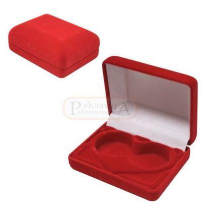 плюшена кутийка за брачни халки