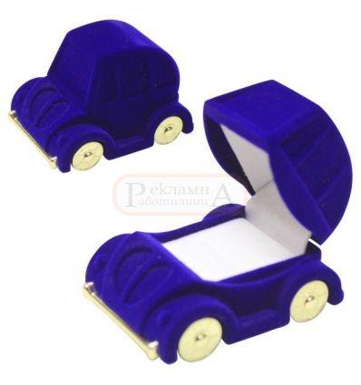 плюшена кутийка за пръстен RD 705 Bl