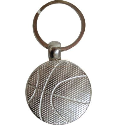 Метален ключодържател баскетбол MBK