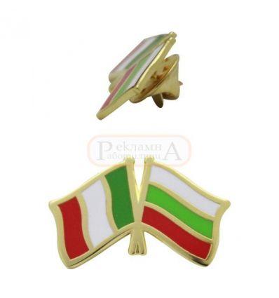 Значка България - Италия