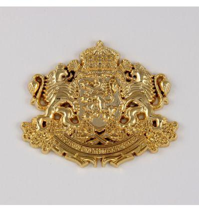 Герб на Република България, позлатен