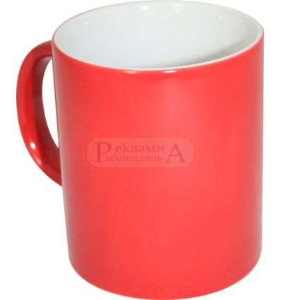 Магическа сублимационна чаша, червена